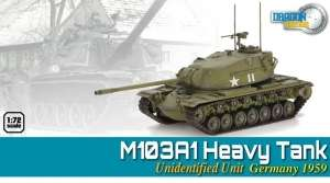 M103A1 Heavy Tank Germany 1959 - ready model Dragon Armor