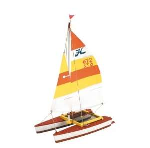 Wooden model boat - Hobie Cat - Artesania 30502
