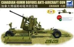 Canadian 40mm Bofors Anti-Aircraft Gun 1:35
