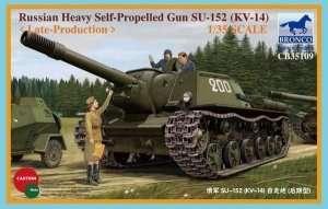 Soviet Heavy Self-propelled Gun SU-152 1:35