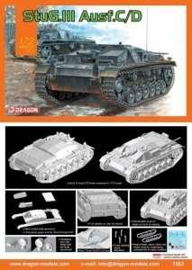 German StuG.III Ausf.C/D in scale 1-72