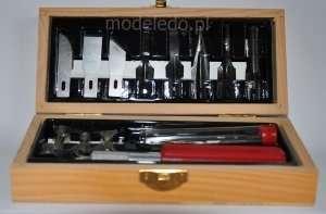 Excel 44284 Zestaw nożyków w drewnianym pudełku