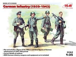 ICM 35639 Figures German Infantry 1939-1942 in scale 1-35
