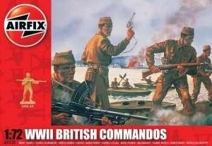 WWII British Commandos scale 1:72