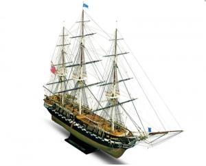 Fregata USS Constitution Mamoli MV31 drewniany model statku 1-93