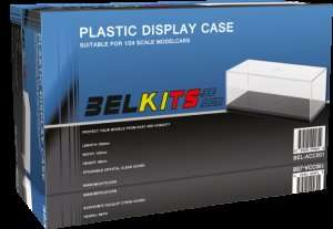 Plastic Display Case suitable for 1-24 scale modelcars