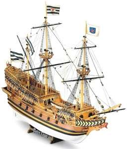 Galleon Roter Lowe - Mamoli MV19 - wooden ship model kit