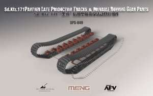 Tracks - Sd.Kfz.171 Panther late - in scale 1:35 Meng SPS-049