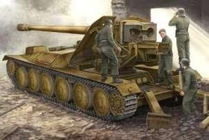 German 12.8cm PAK 44 Waffentrager Krupp 1 in scale 1-35