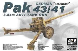 German Scheuntor Pak 43/41 in scale 1-35