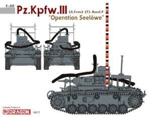 Pz.Kpfw.III Ausf.F (3,7cm) (T) Operation Seelöwe Dragon 6877