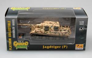 Gotowy model - Jagdtiger Porsche 1:72 - Easy Model 36114