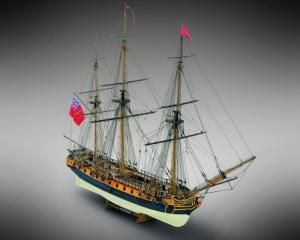 HMS Surprise drewniany model statku skala 1-75 Mamoli MV58