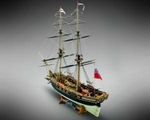HMS Swift drewniany model okrętu w skali 1-70 Mamoli MV59