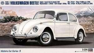 Volkswagen Beetle Type 1 (1967) in scale 1-24