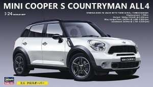 Mini Cooper S Countryman in scale 1-24 Hasegawa CD21