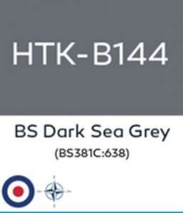 Hatakaa B144 BS Dark Sea Grey - acrylic paint 10ml