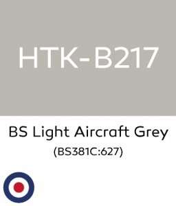 Hataka B217 BS Light Aircraft Grey - acrylic paint 10ml