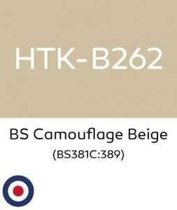 Hataka B262 BS Camouflage Beige - acrylic paint 10ml
