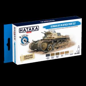 German AFV in Africa Paint Set Hataka BS90 6x17ml