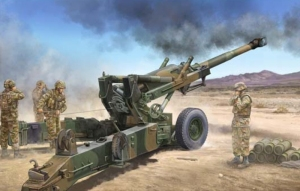 M198 155mm Medium Towed Howitzer model Trumpeter