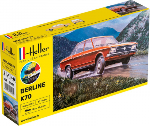 Starter Set Berline K70 model Heller 56176 in 1-43
