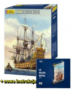 Heller 80899N Żaglowiec Soleil Royal z nową instrukcją