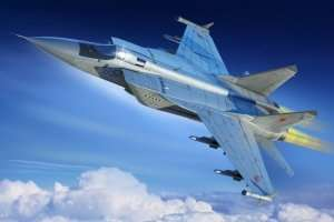 Russian MiG-31M Foxhound in scale 1-48