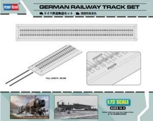 German Railway Track Set - in scale 1-72