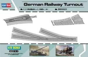 German Railway Turnout model Hobby Boss in 1-72
