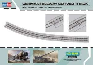 German Railway Curved Track in scale 1-35