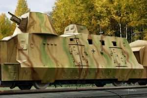 Geschutzwagen - model in scale 1-72