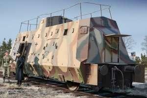 Kommandowagen of BP-42 in scale 1-72 Hobby Boss 82924