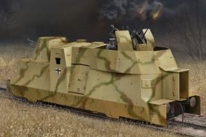 German Kanonen und Flakwagen of BP42 model Hobby Boss in 1-72