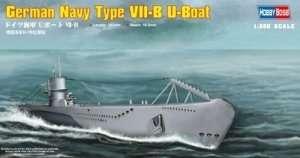 German Navy Type VII-B U-Boat in scale 1-350