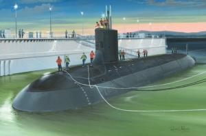 USS Virginia SSN-774 model Hobby Boss 83513 in 1-350