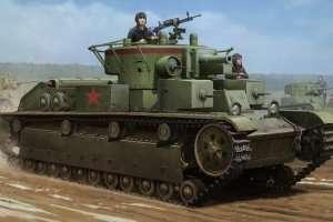 Hobby Boss 83852 Soviet T-28 Medium Tank (Welded)