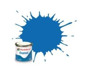 Baltic Blue Metallic - enamel paint 14ml Humbrol 052