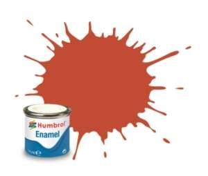 Red Brown Matt - enamel paint 14ml Humbrol 100