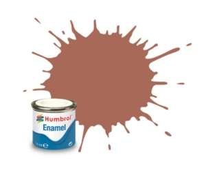 Rust Matt - enamel paint 14ml Humbrol 113