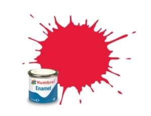 Arrow Red Gloss - enamel paint 14ml Humbrol 238