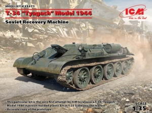 Soviet Recovery Machine T-34 Tyagach Model 1944 ICM 35371