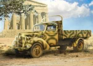 German Army Truck V3000s in scale 1-35 ICM 35411