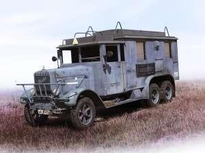 Henschel 33 D1 Kfz.72 Radio Communication Truck in scale 1-35 ICM 35467