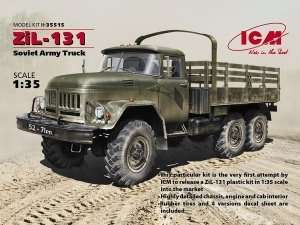 ZiL-131 Soviet Army Truck model ICM 35515 in 1-35