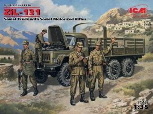 ZiL-131 Soviet Truck with Soviet Motorized Rifles model ICM 35516