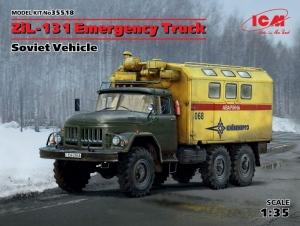 ZiL-131 Emergency Truck model ICM 35518 in 1-35