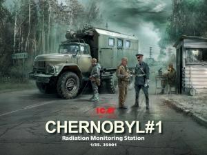 Chernobyl 1 Radiation Monitoring Station model ICM 35901