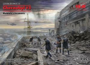 ICM 35903 Figurki - Czarnobyl - ekipa sprzątająca gruz
