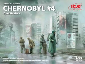 Chernobyl 4 Deacticators model ICM 35904 in 1-35